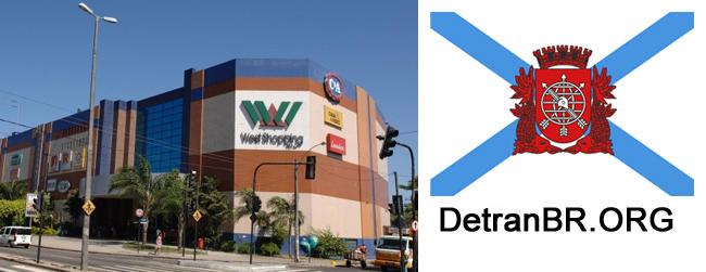 unidade detran west shopping identificacao